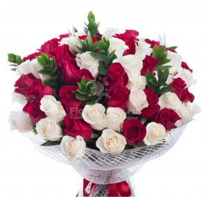BOUQUET OF 61 ROSES
